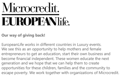 MicroCredit for Mothers